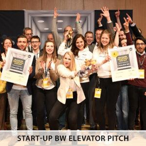 Start-up BW Elevator Pitch Regional Cup Böblingen 2019