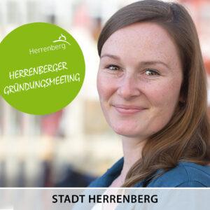 Wirtschaftsförderung Herrenberg, Herrenberger Gründungsmeeting, Charlotte Reichertherrenberg1