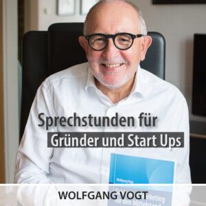Gründerlotse Wolfgang Vogt