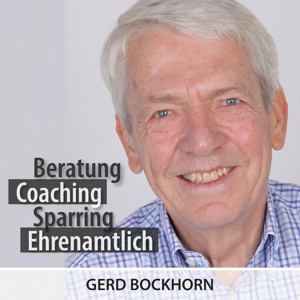 Gründerlotse Gerd Bockhorn