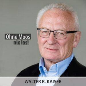 Walter R. Kaiser, Gründerlotse der Senioren der Wirtschaft e.V.