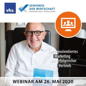 Webinar VHS und Senioren der Wirtschaft, Einladung