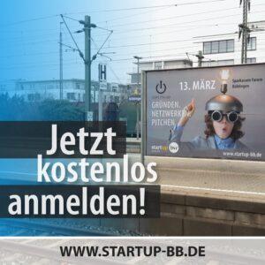 start.me.up - 13. März 2020 im Sparkassenforum