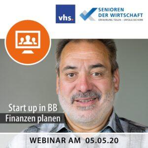 Start up in BB - Finanzen planen Mit Thomas Römer