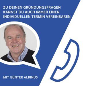 kostenlose Gründersprechstunde in Böblingen mit Gründerlotse Günter Albinus